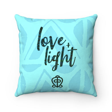 Love and Light Throw Pillow African Print | Spun Polyester Square Pillow