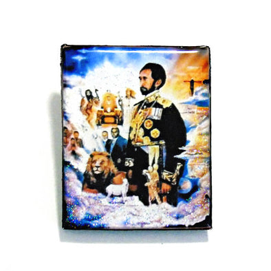 Majesty Haile Selassie Pin