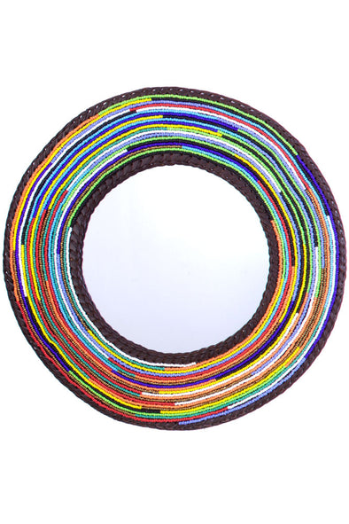 Large Maasai Necklace Mirror