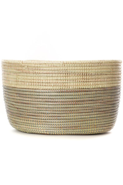 Sterling Dipped Knitting Basket
