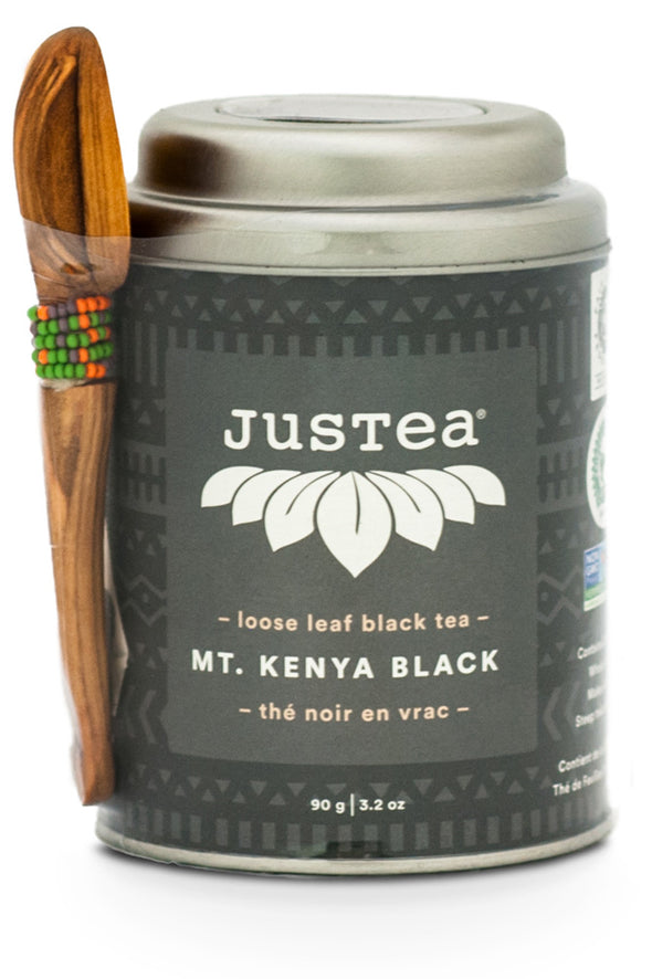 JusTea® Mt. Kenya Black Loose Leaf African Tea