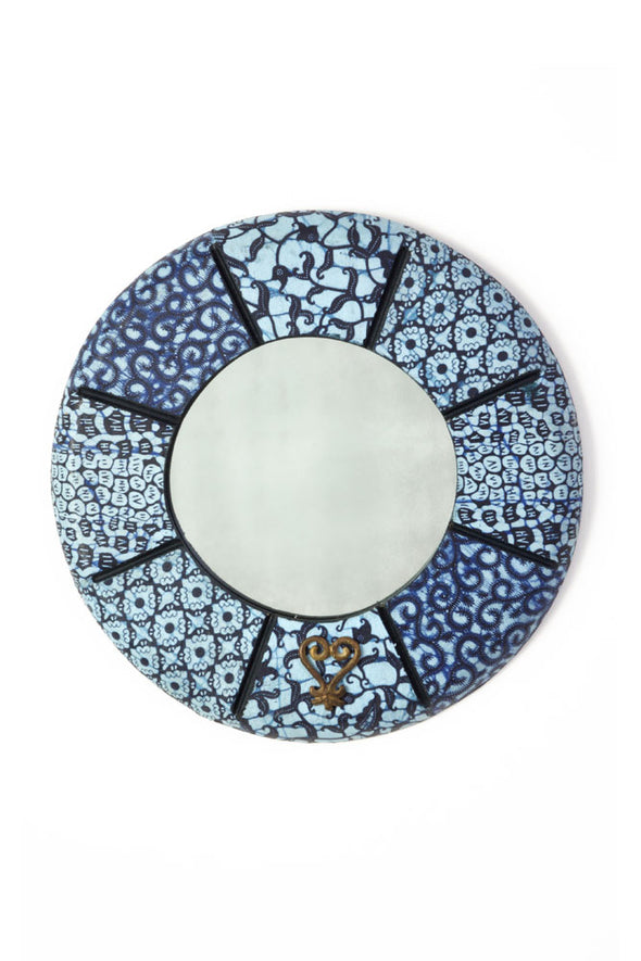 Small Round Beach House Mirror