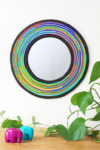 Medium Maasai Necklace Mirror