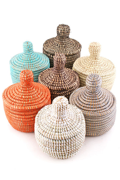 Various Colors • Miniature Warming Baskets