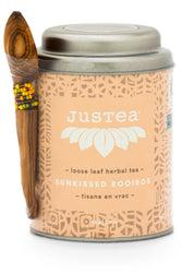 JusTea® Sunkissed Rooibos Loose Leaf Tea