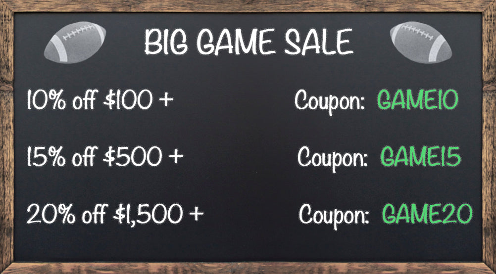 Big Game Football Furniture Decor Sale