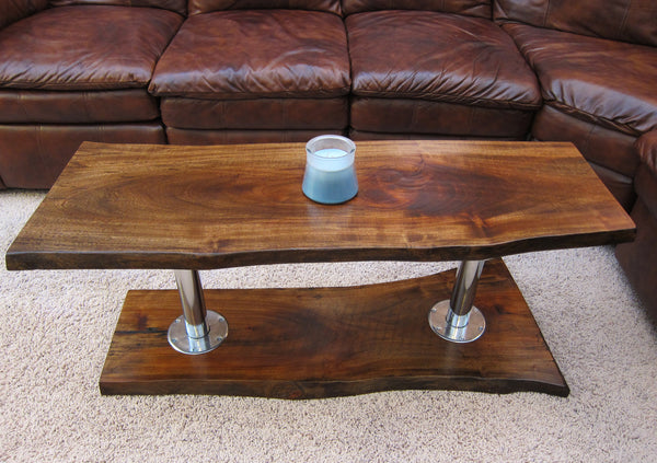 Solid Slab Tv Stand Woodwaves