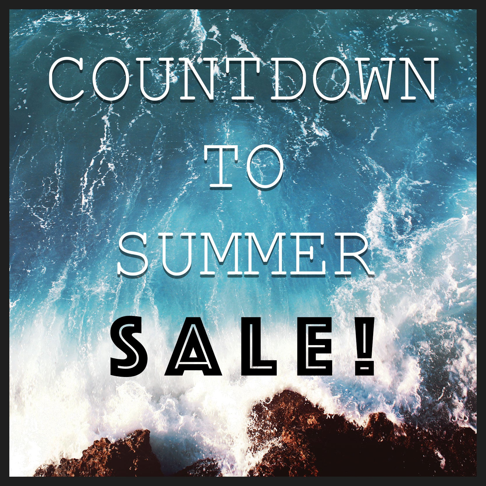 Countdown To Summer Furniture Decor Sale
