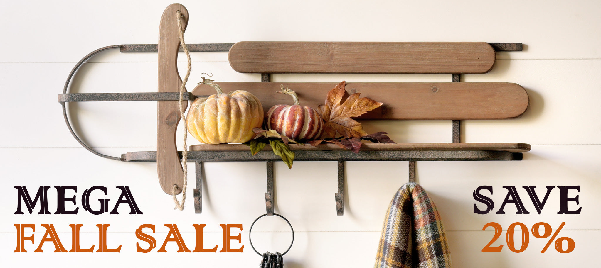 Fall Rustic Modern Furniture and Decor Sale