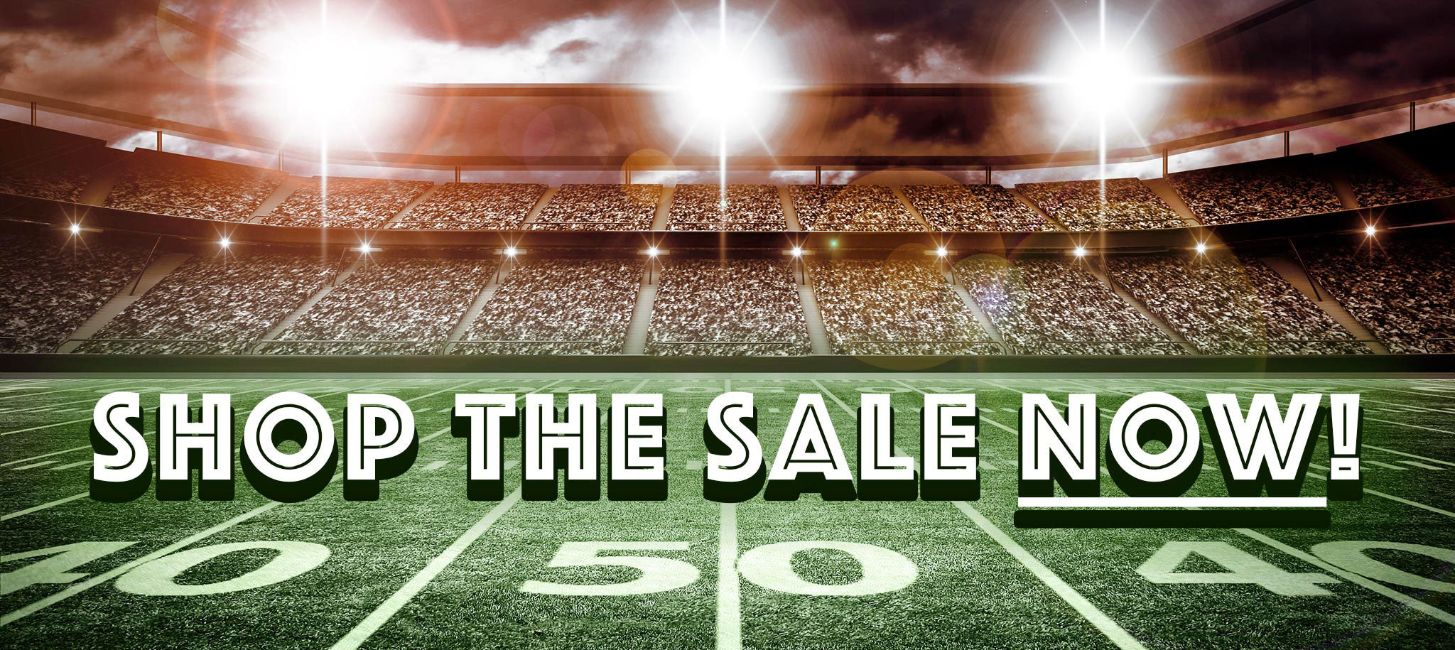 Big Game Football Furniture and Decor Sale