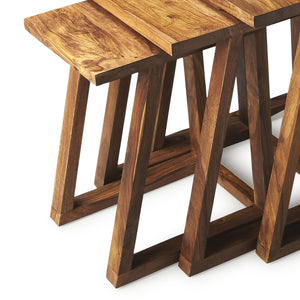 Modern Wood Nesting Tables
