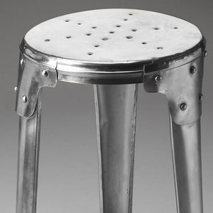 Industrial Modern Aluminum Bar Stool