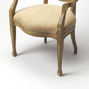 French Cottage Accent Arm Chair