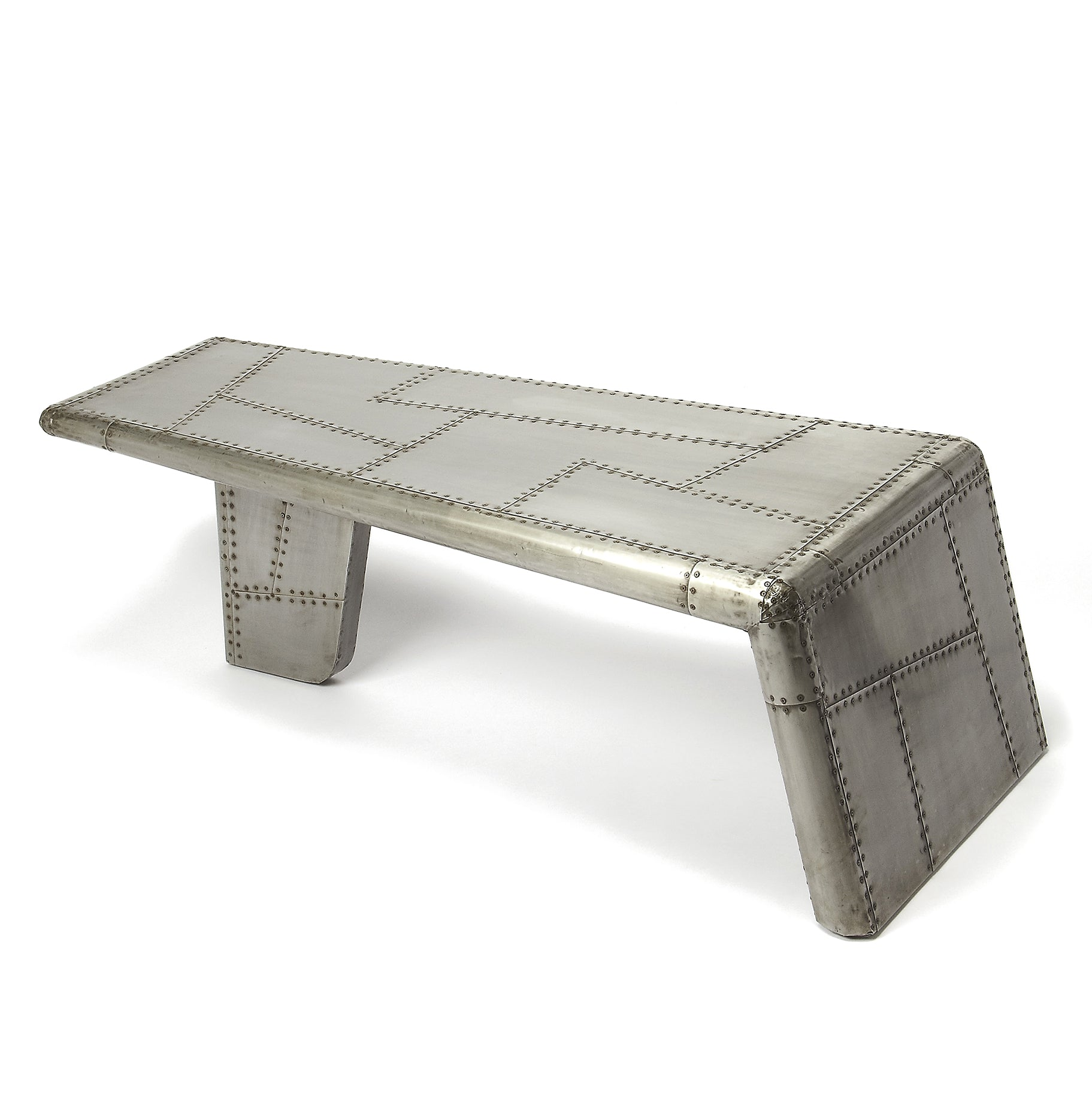 Airplane Wing Style Coffee Table Woodwaves