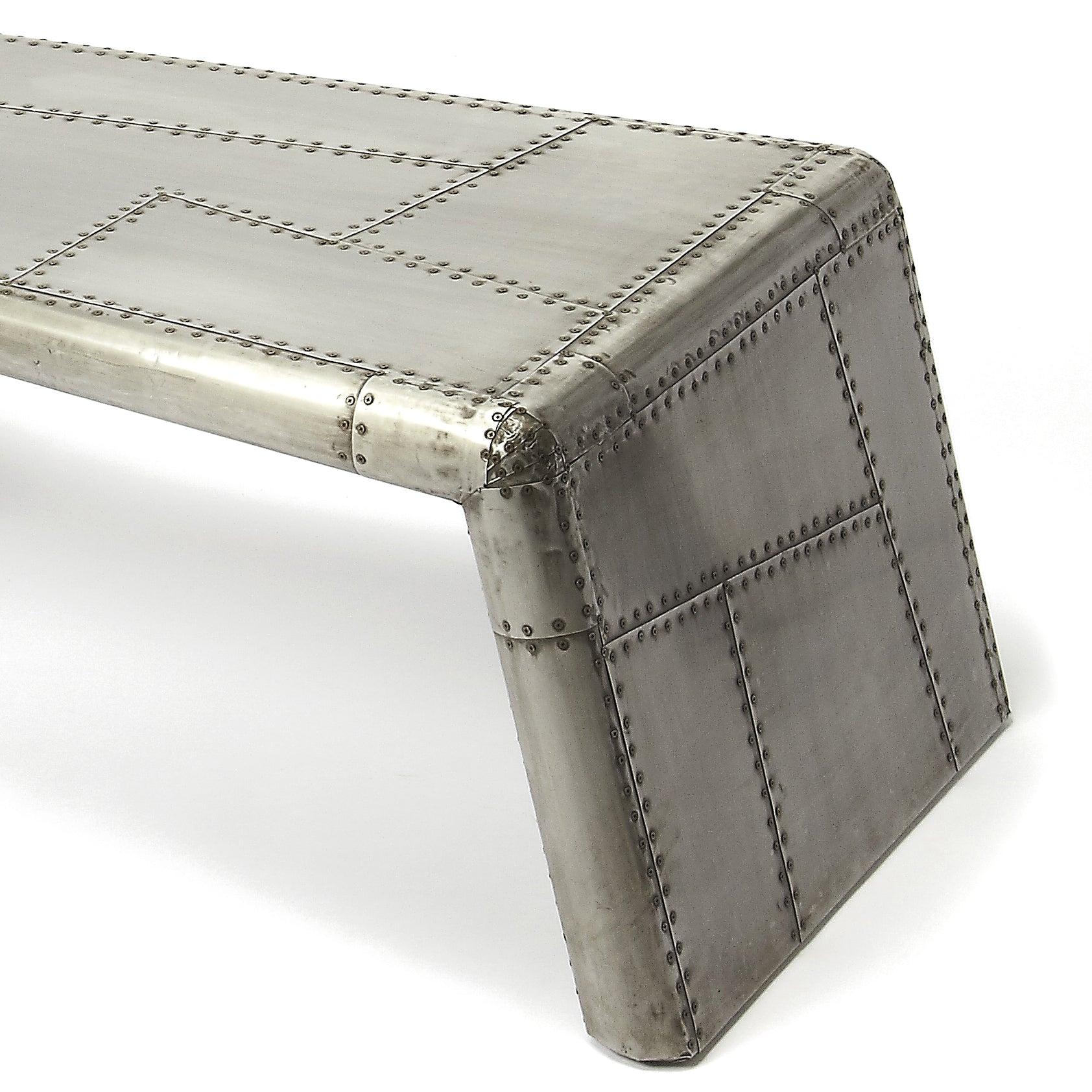 Airplane Wing Style Coffee Table