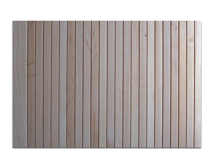 Thin Flat Tambour (Alder) - For Appliance Garage