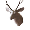 White Wall Mount Deer Head