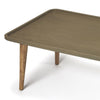 Concrete and Wood Industrial Modern Coffee Table