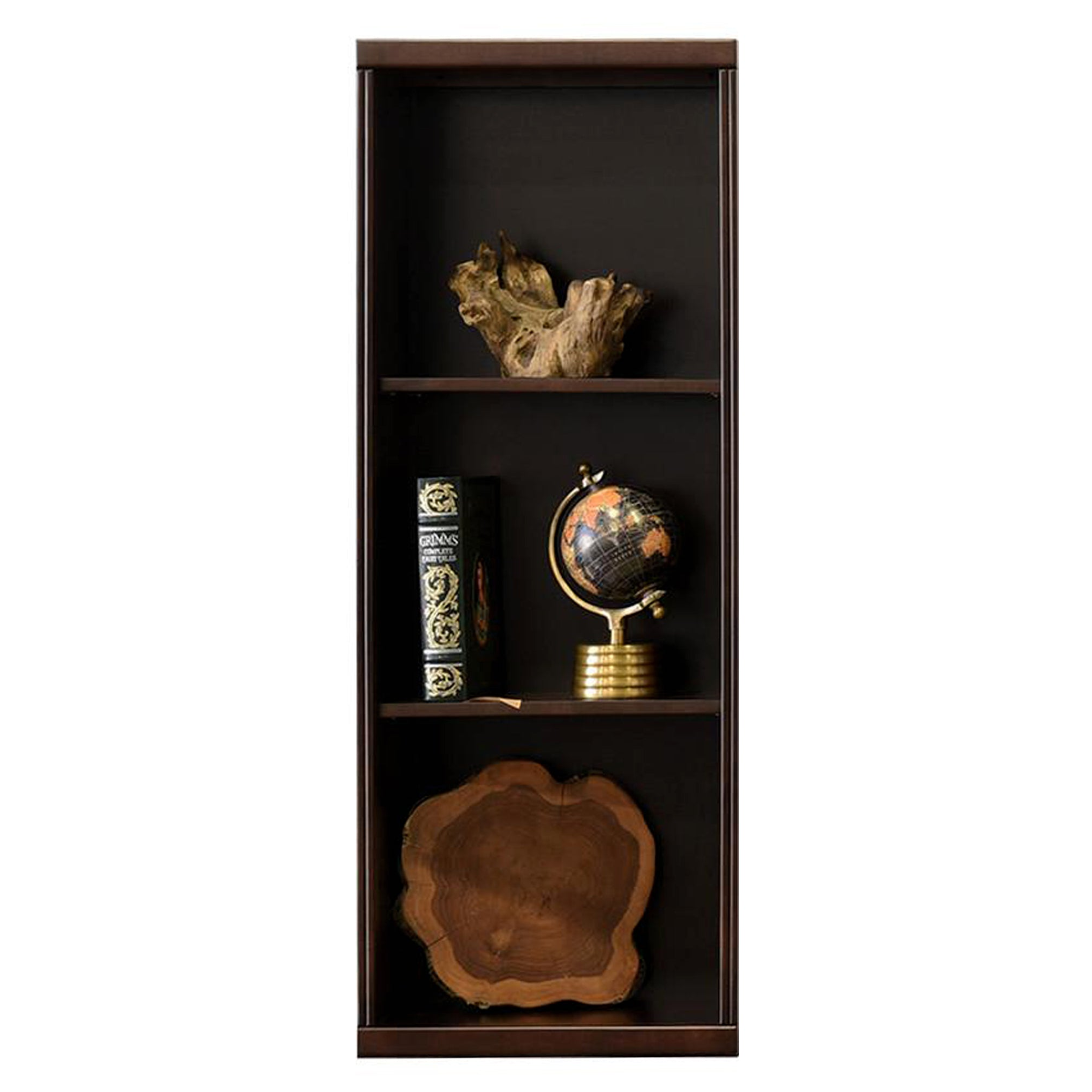 ***Open Box/Blemish/Final Sale/As Is 30% off Original Price of $299 ***  Curve Espresso Bookcase