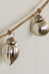 Shabby Chic Mercury Glass Christmas Garland