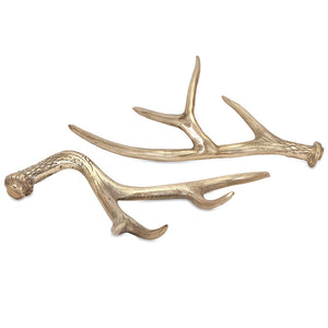 Decorative Golden Deer Antlers