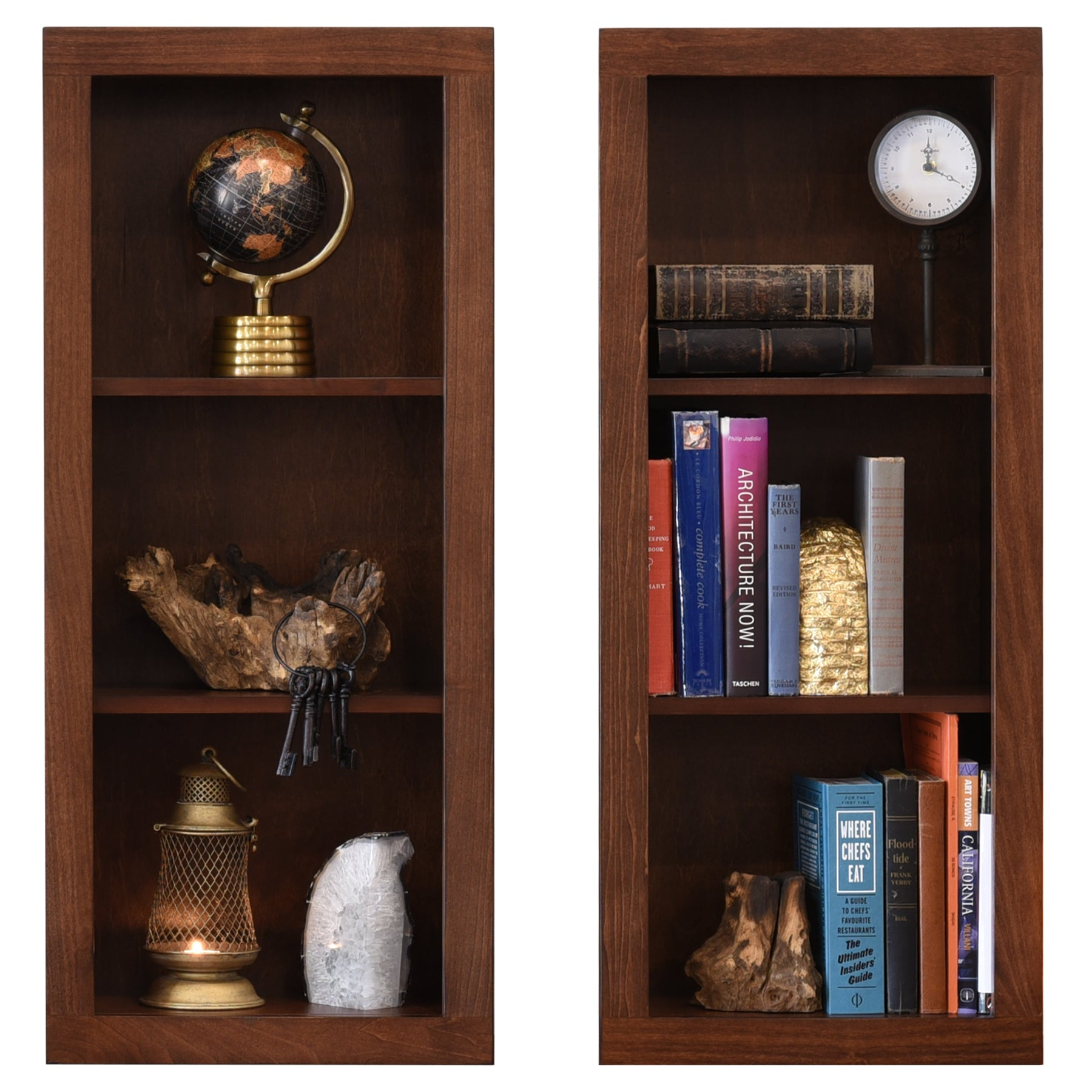 ECO GEO Bookcases - Mocha - Set of 2