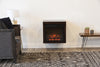 Floating Wall Mount Electric Fireplace Heater - ECO GEO Espresso