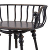 Rustic Metal Black Farmhouse Industrial Modern Bar Stool Chair