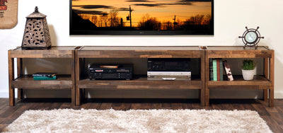 Rustic Reclaimed TV Stand Entertainment Center  PresEARTH Spice Rustic Entertainment Center C94