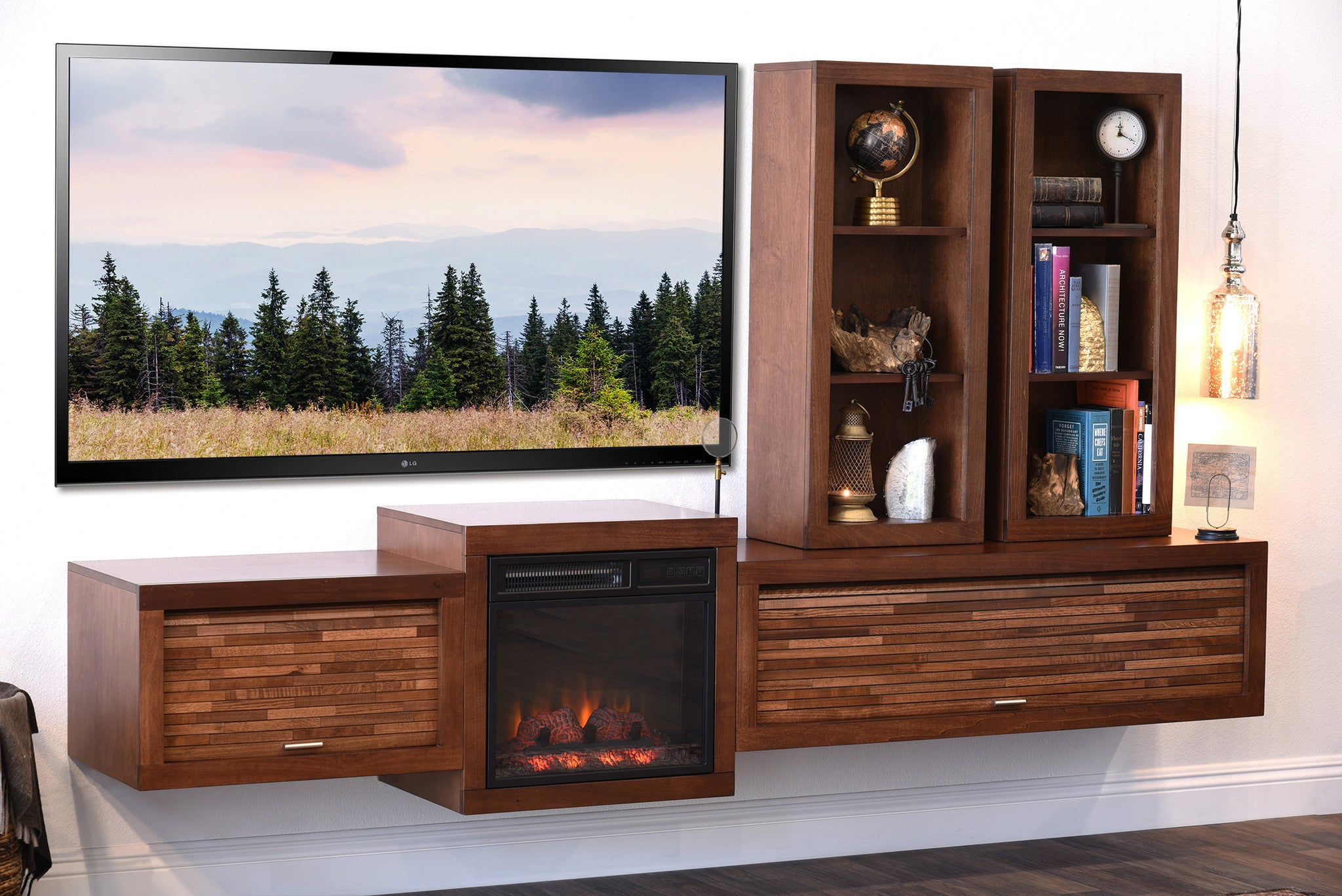 amazon tv dp farmington console stands up tvs electric kitchen for to dining home com fireplace rustic ameriwood