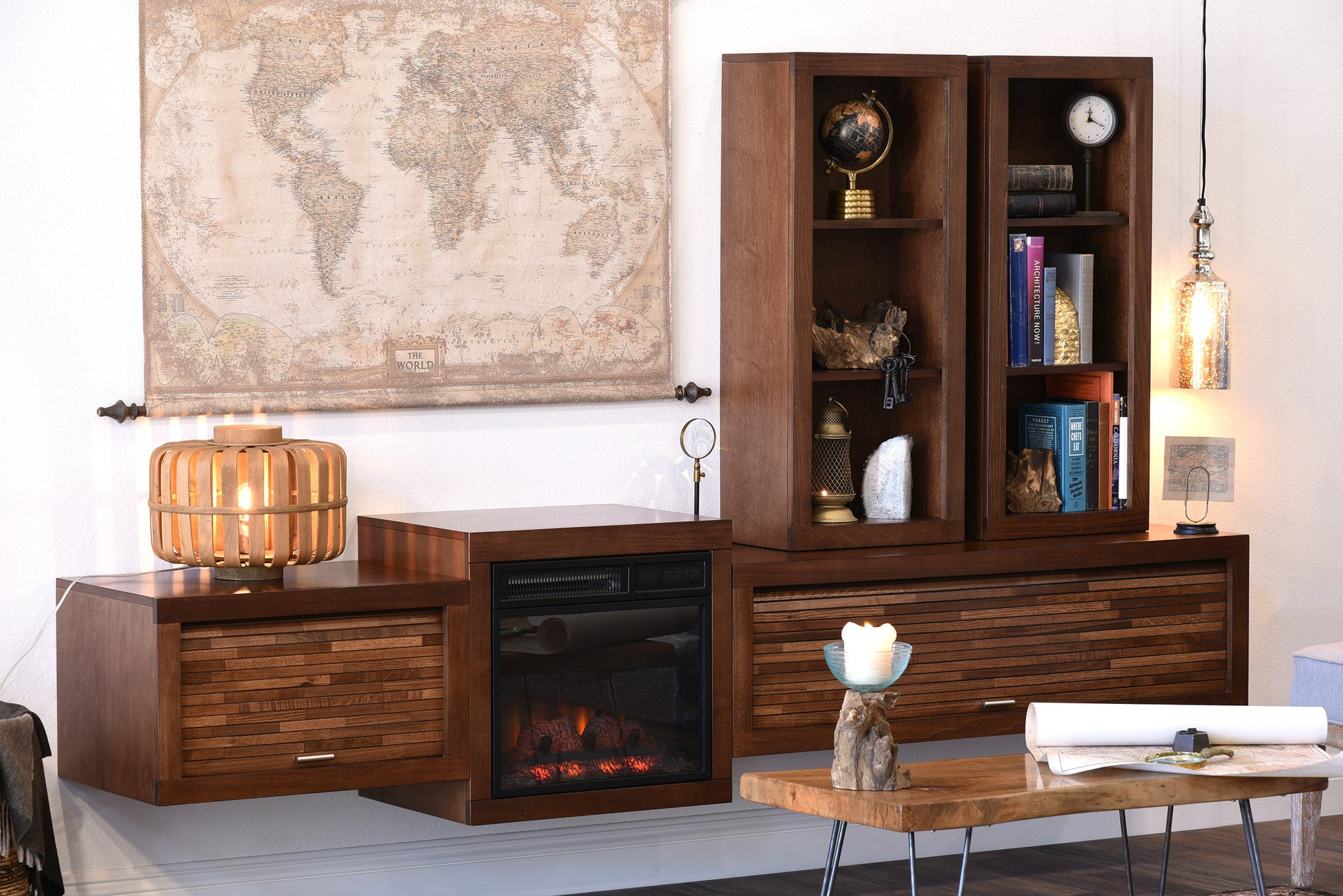 fireplace tv stands u0026 floating wall mount consoles woodwaves