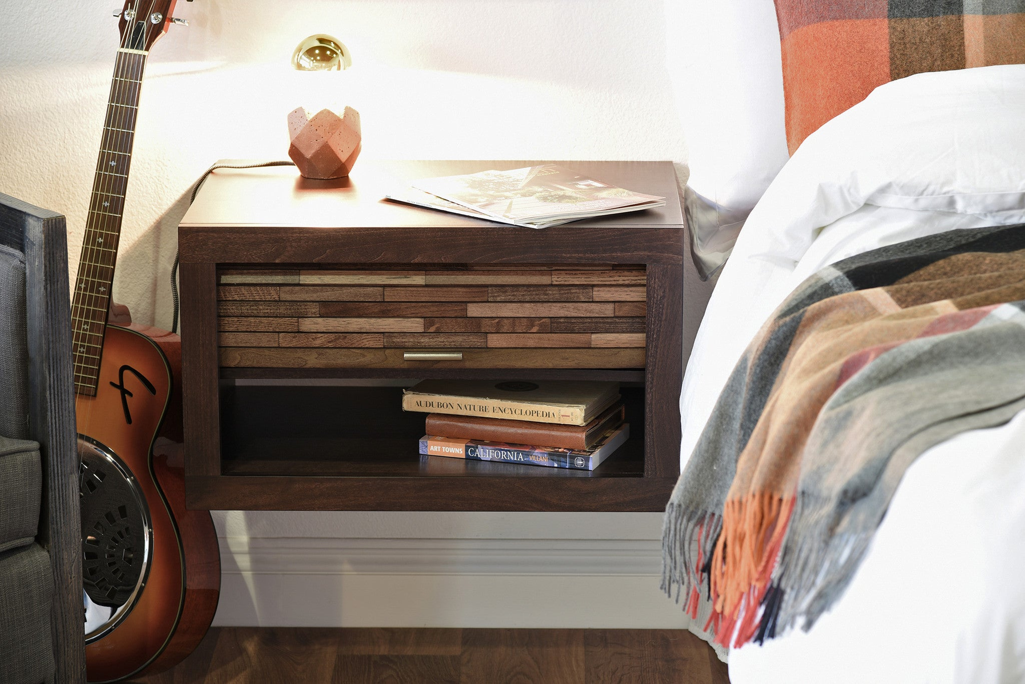 Modern and Floating Wall Mount Nightstands Woodwaves