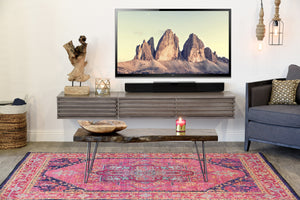 Floating TV Console - Lotus - 2 Piece - Driftwood Gray