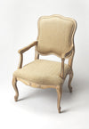 French Shabby Chic Accent Arm Chair