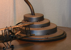 Steampunk Industrial Modern Table Lamp