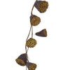Gold Lotus Fall and Winter Holiday Garland