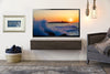 Floating Wall Mount TV Stand - Lotus - Driftwood Gray