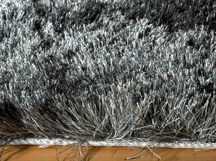 Gray Neutral Plush Luxurious Modern Shag Rug