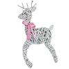 Gray Willow Deer Christmas Winter Wall Art - Set of 6