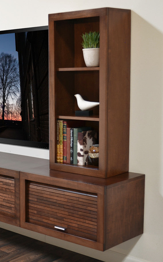 hutch america re in inval mounted mount espresso raw wall