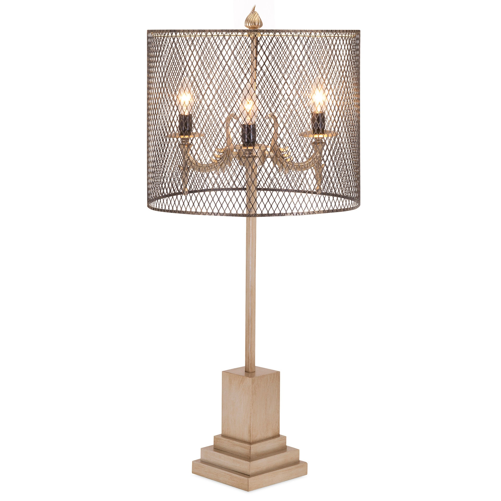 industrial chic lighting. industrial chic modern wire mesh table lamp lighting g