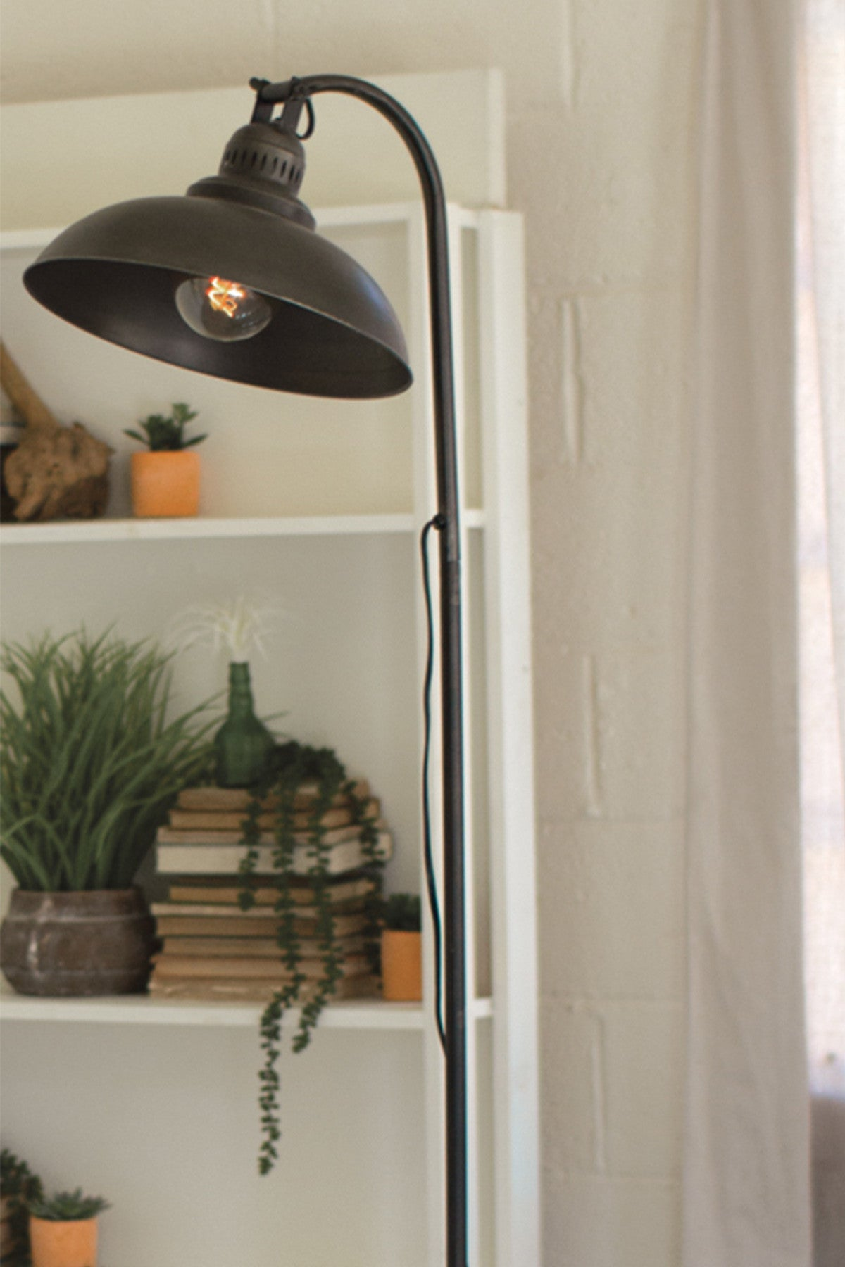 Industrial Modern Farmhouse Floor Lamp