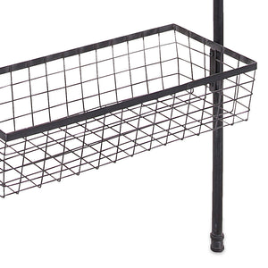 Industrial Modern Wire Basket Wall Shelf