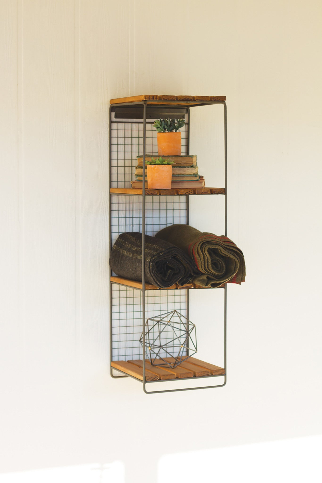 Industrial Modern Hanging Wall Shelf