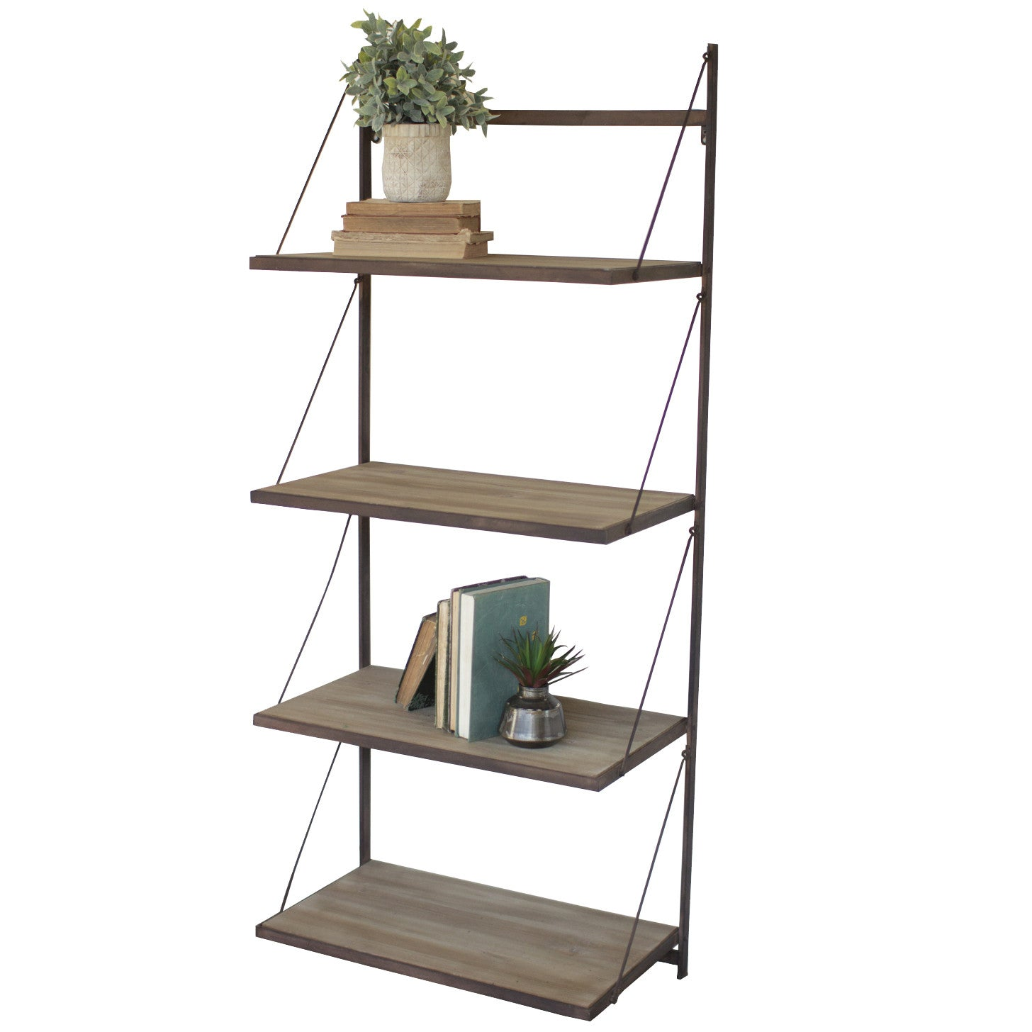 wall shelves & storage - woodwaves