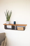 Industrial Modern Wall Shelf With Acoustic iPhone Smartphone Speaker