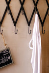 Industrial Modern Adjustable Scissor Coat Rack