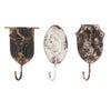 Large Rustic Animal Farmhouse Wall Coat Hooks - Set of 3