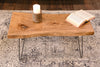 Live Edge Natural Slab Coffee Table