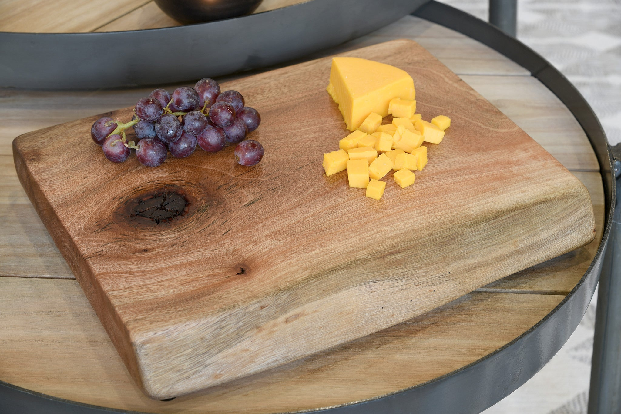 Reclaimed Live Edge Cheese Board - Medium